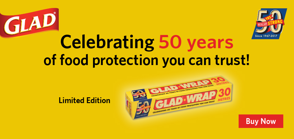 50 years of Glad