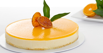 Baked Apricot Cheesecake