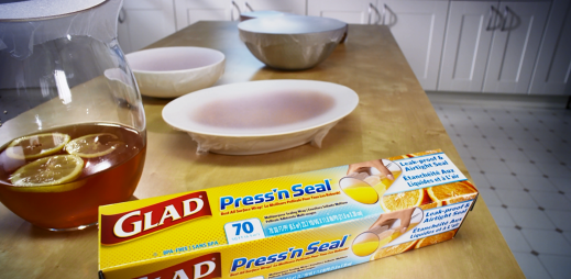 GLAD Press'n Seal: Tip #13 Table Flip