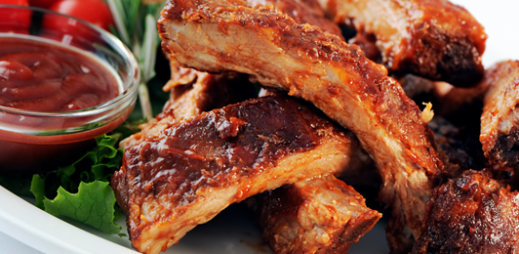Honey Glazed Pork Spare Ribs
