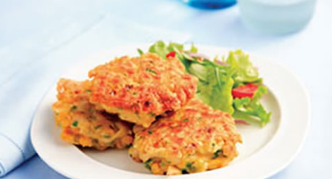 Corn & Chicken Fritters