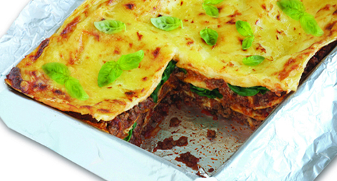 Beef & Spinach Lasagne