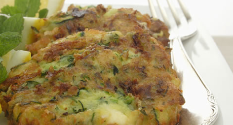 Zucchini Slice or Fritters