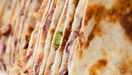 Cheese & Bean Quesadilla