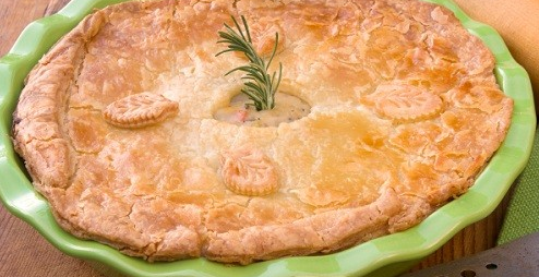 Vegetable & Cheese Pie