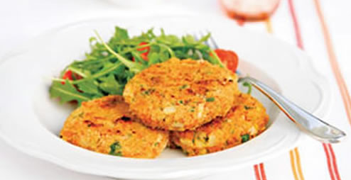 Pumpkin Patties with Coriander