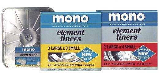 MONO® Rigid Foil Oven & Element Liners