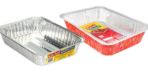 GLAD® Foil Roaster Pans