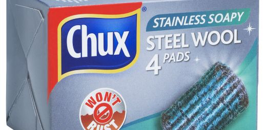 CHUX® Stainless Steel Wool Soap Pads