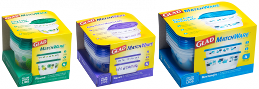 GLAD® Matchware® Containers